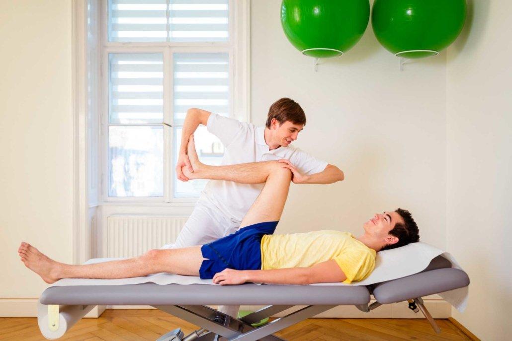 Bewegungsfreiraum der Gelenke, Physiotherapie bei Kinemedic - Praxis für physikalische und rehabilitative Medizin