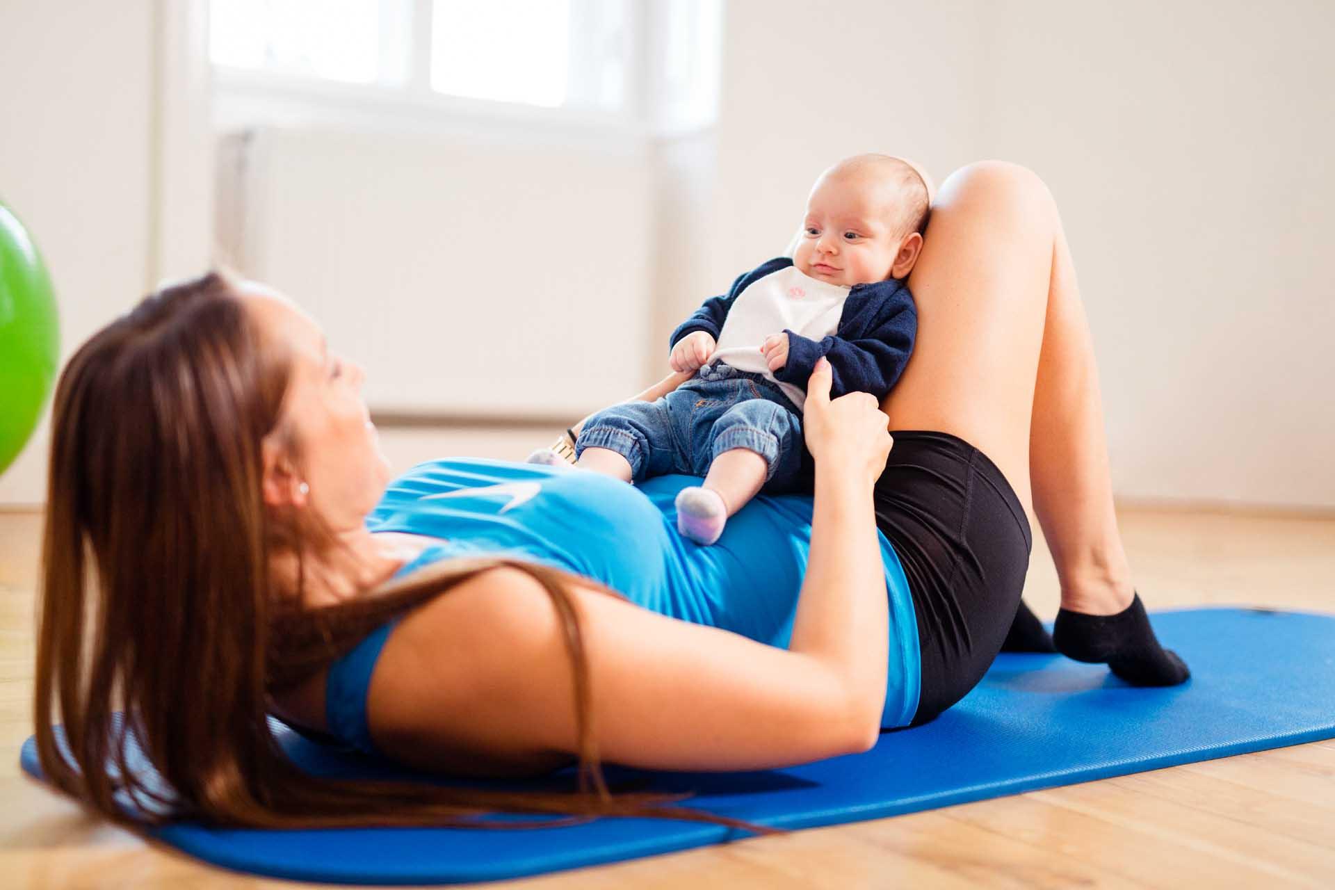 Beckenbodengymnastik, Rückbildungsgymnastik bei Kinemedic - Praxis für physikalische und rehabilitative Medizin