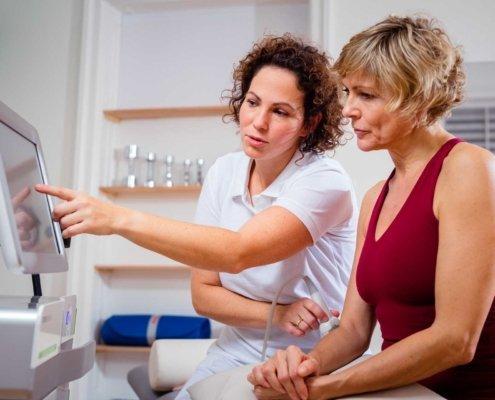 Ultraschalluntersuchung bei Kinemedic - Praxis für physikalische und rehabilitative Medizin