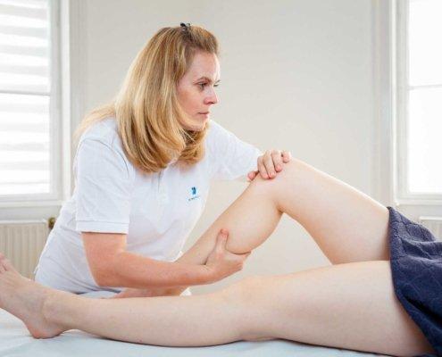 Lymphdrainage bei Kinemedic - Praxis für physikalische, orthopädische und rehabilitative Medizin.